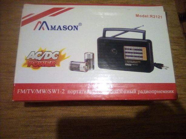 Радиоприемник портативный 5-диапазонный MASON Model R2121