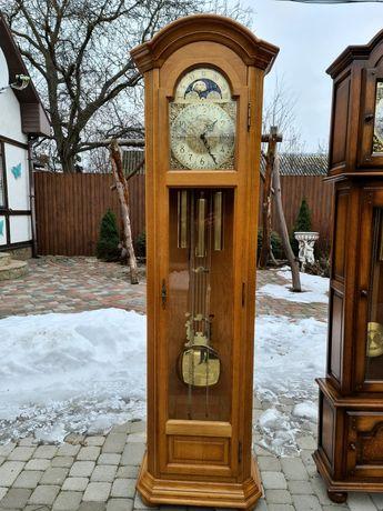 Механические дубовые напольные часы Kieninger