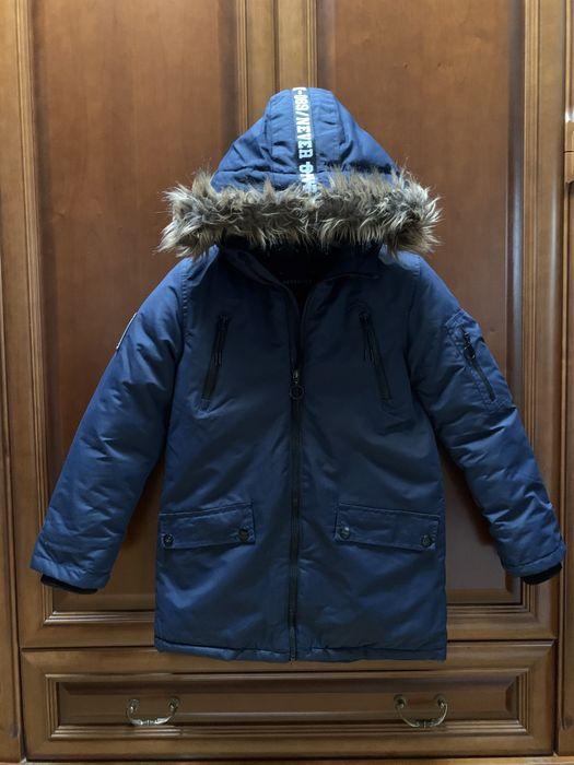 Zimowa kurtka chłopięca Reserved 140 cm Katowice - image 1