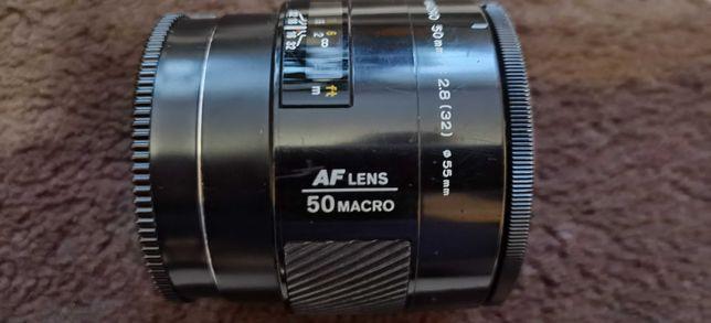 Об'єктив Minolta AF 50mm f/2.8 Macro