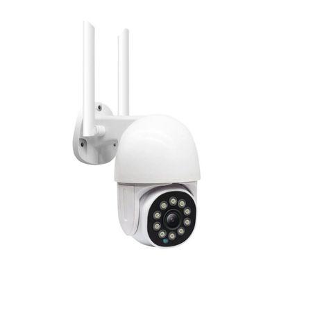 Câmera Vídeo Vigilância WIFI 1080P Exterior Rotativa 3MP