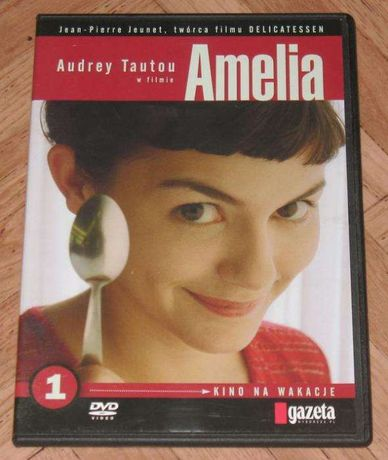 Film DVD Amelia z Audrey Tautou stan BDB