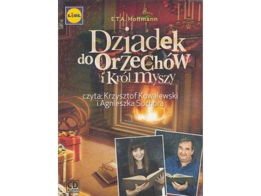 """Płyta CD ,,Dziadek do orzechów i król myszy"""""""