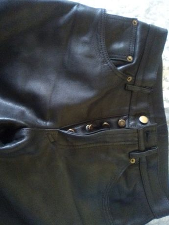 spodnie skórzane męskie z Niemiec