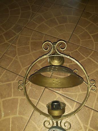 Stara lampa,żyrandol.