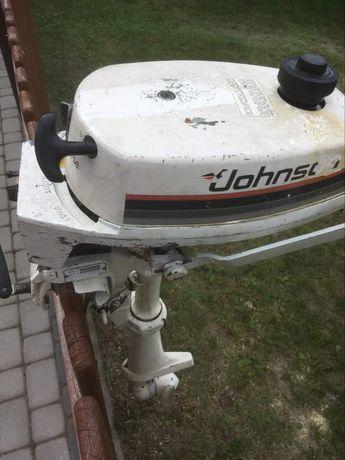 Silnik zaburtowy spalinowy Johnson J2RCNE 2KM  Film z pracy