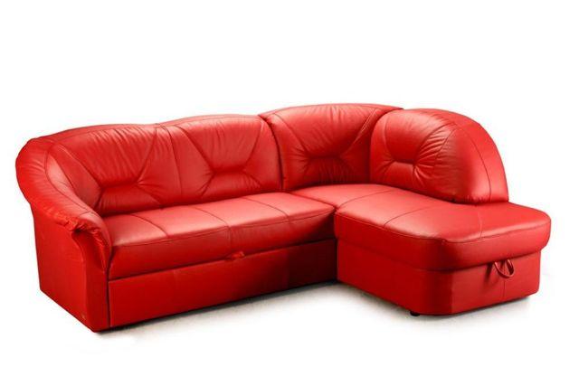 Narożnik kanapa sofa narożna FRESH prawdziwa naturalna skóra PRODUCENT