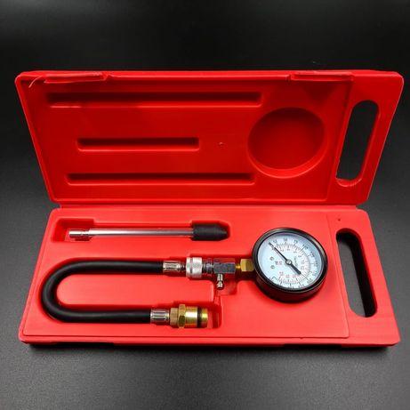 Компрессометр для бензиновых двигателей INTERTOOL.