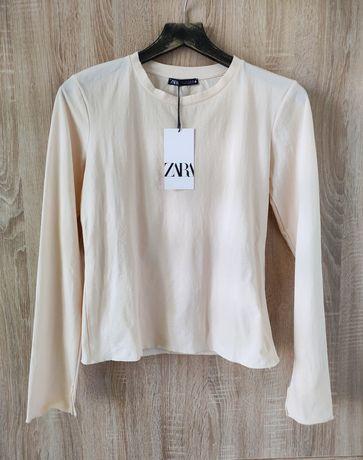Koszulka z tkaniny strukturalnej ZARA, nowa , r. S