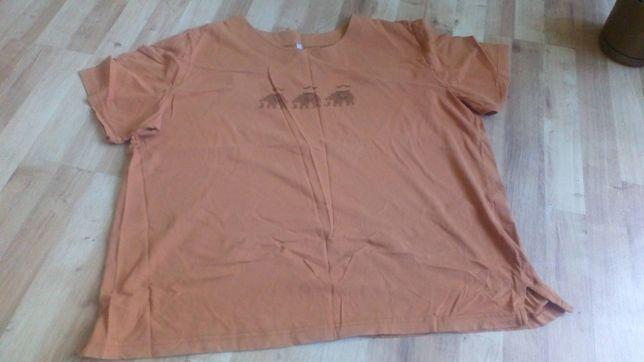 Rudobrązowa bluzka 54