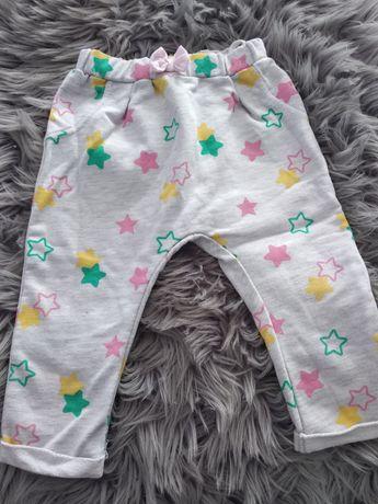 Szare spodnie dresowe w gwiazdki ergee