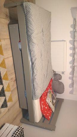 Łóżko drewniane pojedyncze młodzieżowe z szufladą