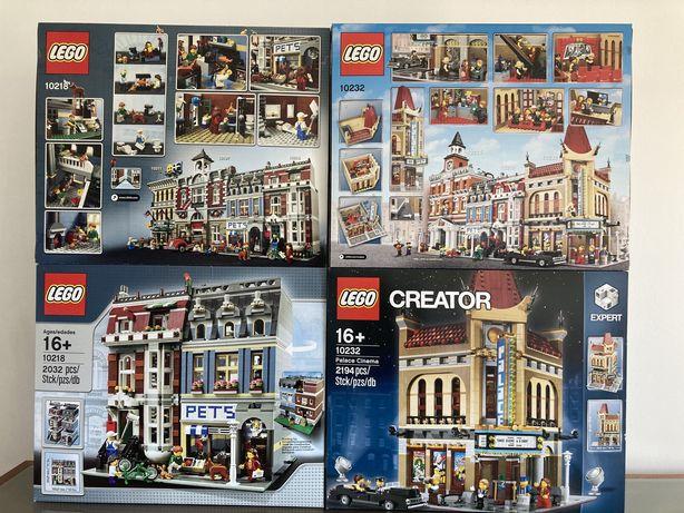 Lego Creator Modular 10218 / 10232 Novos Seladodos