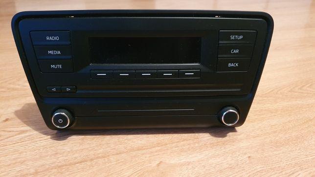 Oryginalne radio Skoda Octavia 3