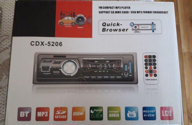 Radio samochodowe nowe CDX-5206 MP3