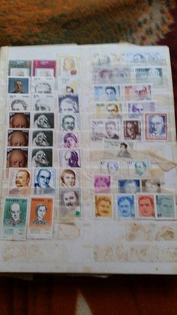 Album Klaser Filatelistyka znaczki pocztowe