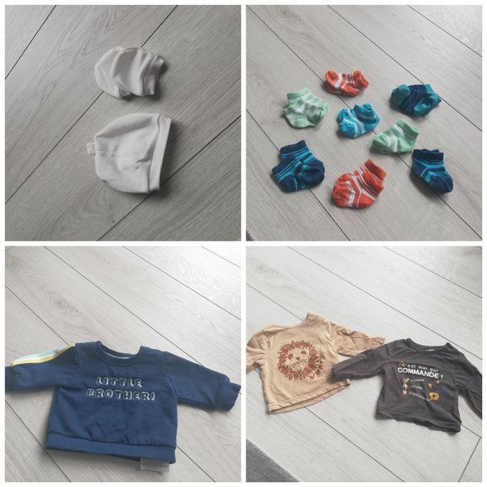 Ubranka 56 paczka ubrań dla noworodka, body, pajace, kombinezon Racibórz - image 1