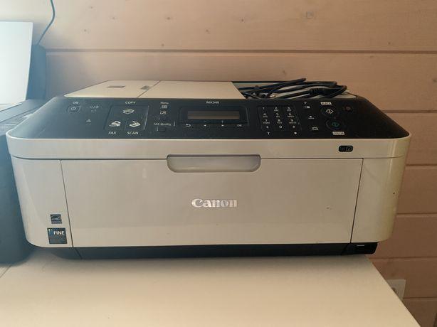 Принтер canon mx340