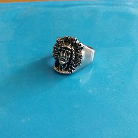 Перстень, кольцо с изображением Христа.