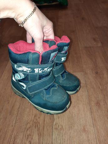 Зимние ботинки BG 26 размер, стелька 16 см