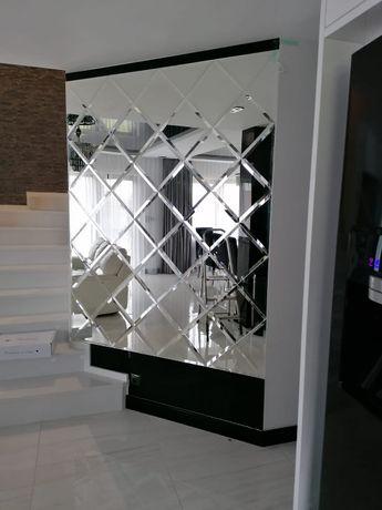 panele szklane/kabiny prysznicowe/balustrady/lustra/zabudowy szklane