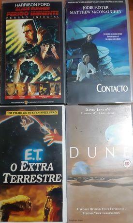 20 VHS - Ficção Clássicos Animação Musical Documentário