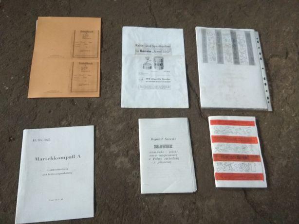 Wehrmacht reprinty instrukcji