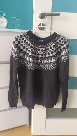 Sweter h&m czarny
