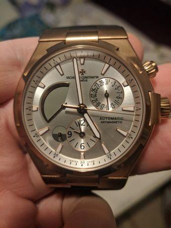 Часы Vacheron Constantin Overseas Dual Time Gold-White