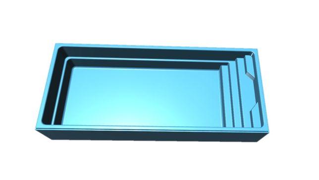 BASEN OGRODOWY HERKULES 8.5x3.7x1.5 Montaż Kompleksowy z materiałami