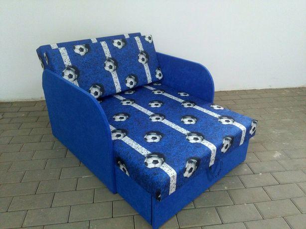 Łóżko fotelik z funkcja spania i pojemnikiem na pośćiel HIT!