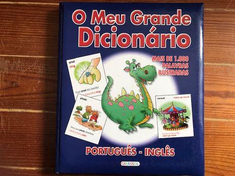 O meu Grande Dicionário ilustrado Português - Inglês