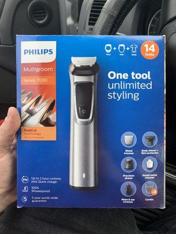 Тример, бритва, машинка для стрижки Philips multigroom 7000