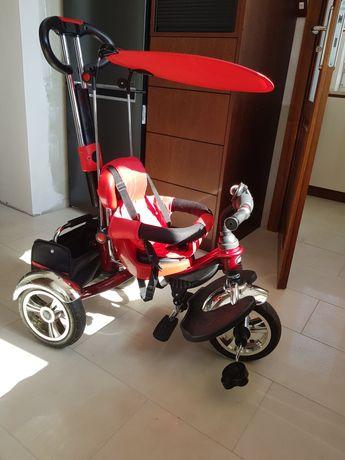 Rowerek trójkołowy Sport Trike Ramiz czerwony od 12 miesięcy