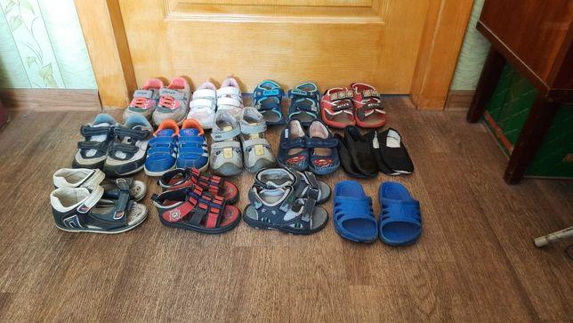 босоножки кроссовки тапочки на 3 - 4 года