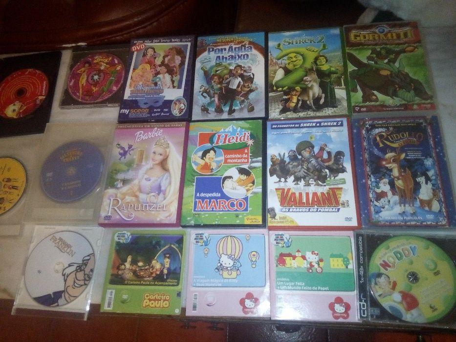 Conjunto de 34 Dvd's Infantis Torres Vedras (São Pedro, Santiago, Santa Maria Do Castelo E São Miguel) E Matacães - imagem 1