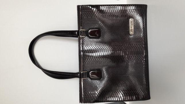 Лаковая сумка Antonio Biaggi кожа