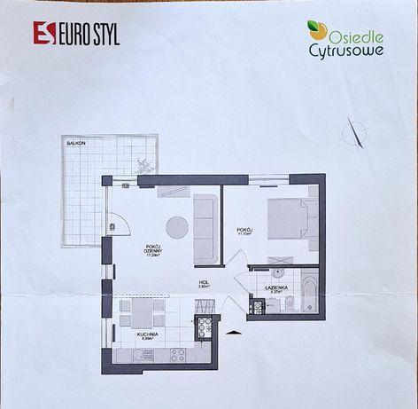 Super 2 pokojowe Mieszkanie 46,49m2 na Kowalach !!!
