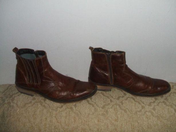 buty skórzane kowbojki 42 męskie