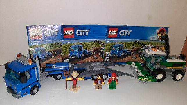 Lego City 60223 Транспортировщик для комбайнов Лего Сити
