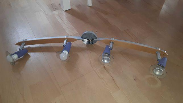 Lampa sufitowa plafon na 4 żarówki