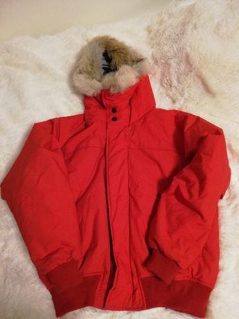 kurtka nutrica M 38 czerwona, kurtka NAUTICA s m puchowa ciepła