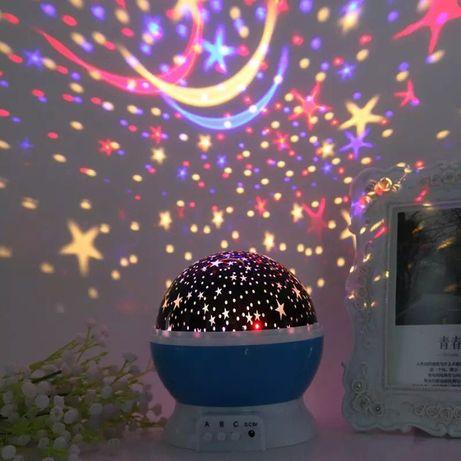 Проектор ночник звездное небо StarMaster Dream 3D