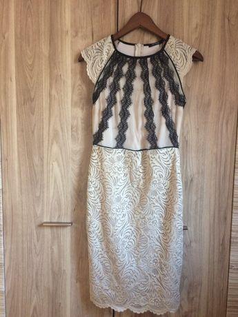 Sukienka koronkowa Orsay 36 Komunia ślub