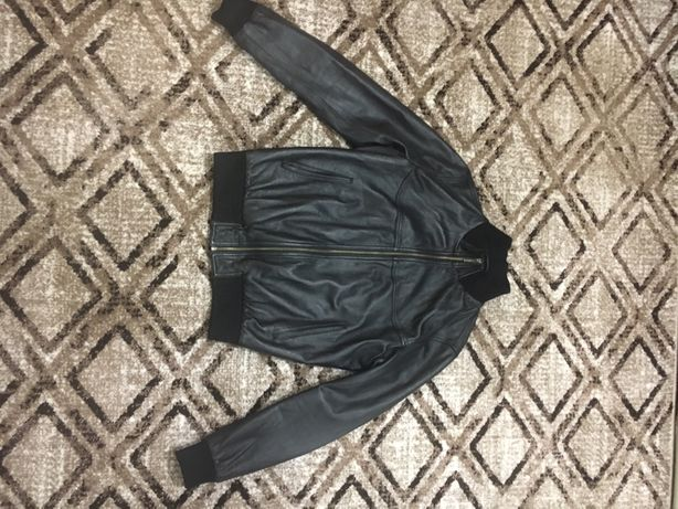 Кожанная куртку мужская Tony Pegosh