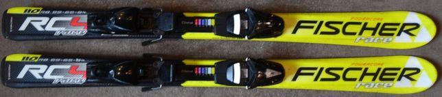 Narty dziecięce Fischer Race RC 4 110 cm (N40)