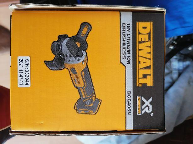 Dewalt DCG405 P2 Szlifierka Bezszotkowa 18v lub pełen zestaw