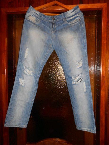 Женские джинсы рваные