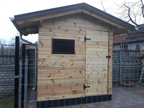 Domek drewniany ogrodowy