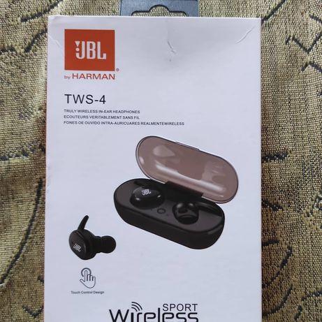 JBL TWS-4 безпровідні наушники